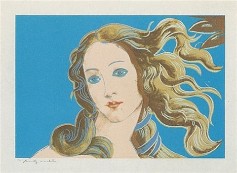 birth of venus [ii.319] details of renaissance paintings by andy warhol
